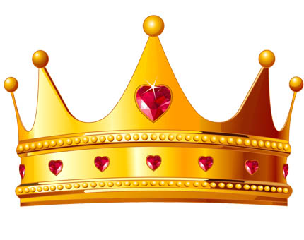 THE CROWN HERE, AND THERE